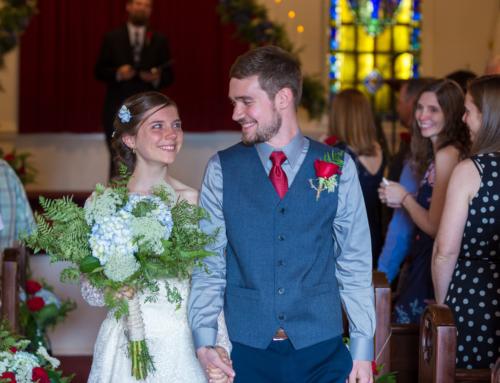 Jordan & Benjamin's Wedding at Amelia Baptist Church
